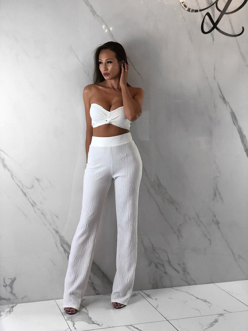 Avril Pants, Women's White Pants