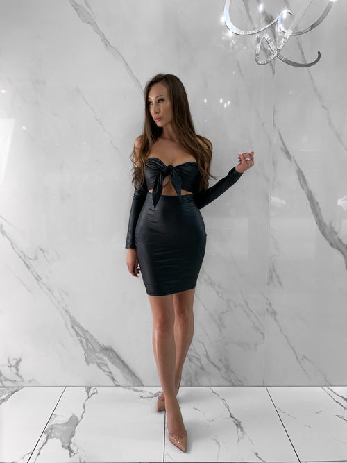 Becky Dress, Women's Black Dresses