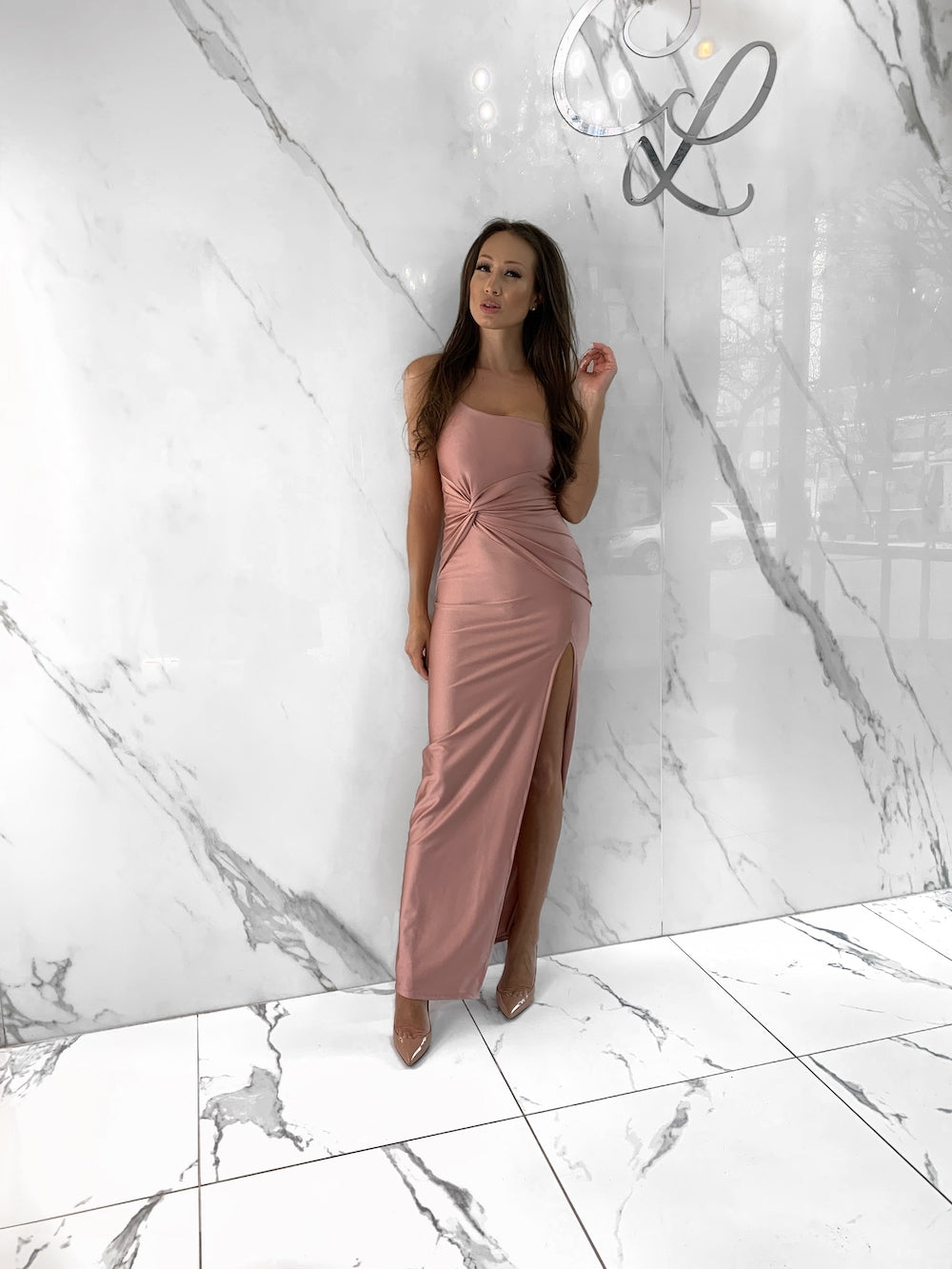 Bethanie Dress, Women's Blush Dresses