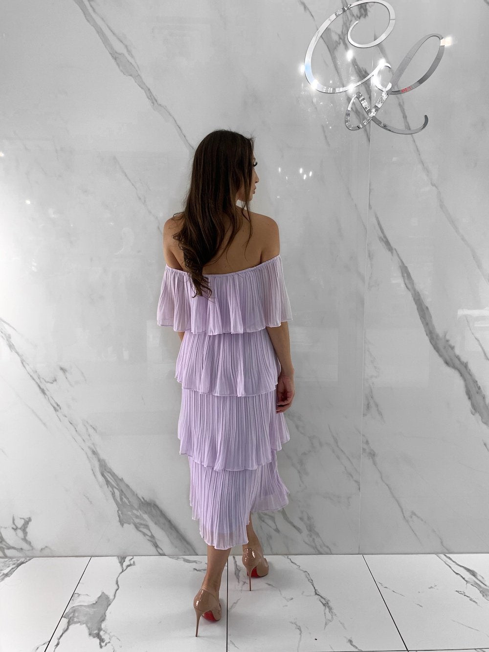 Caroline Dress, Women's Lavender Dresses