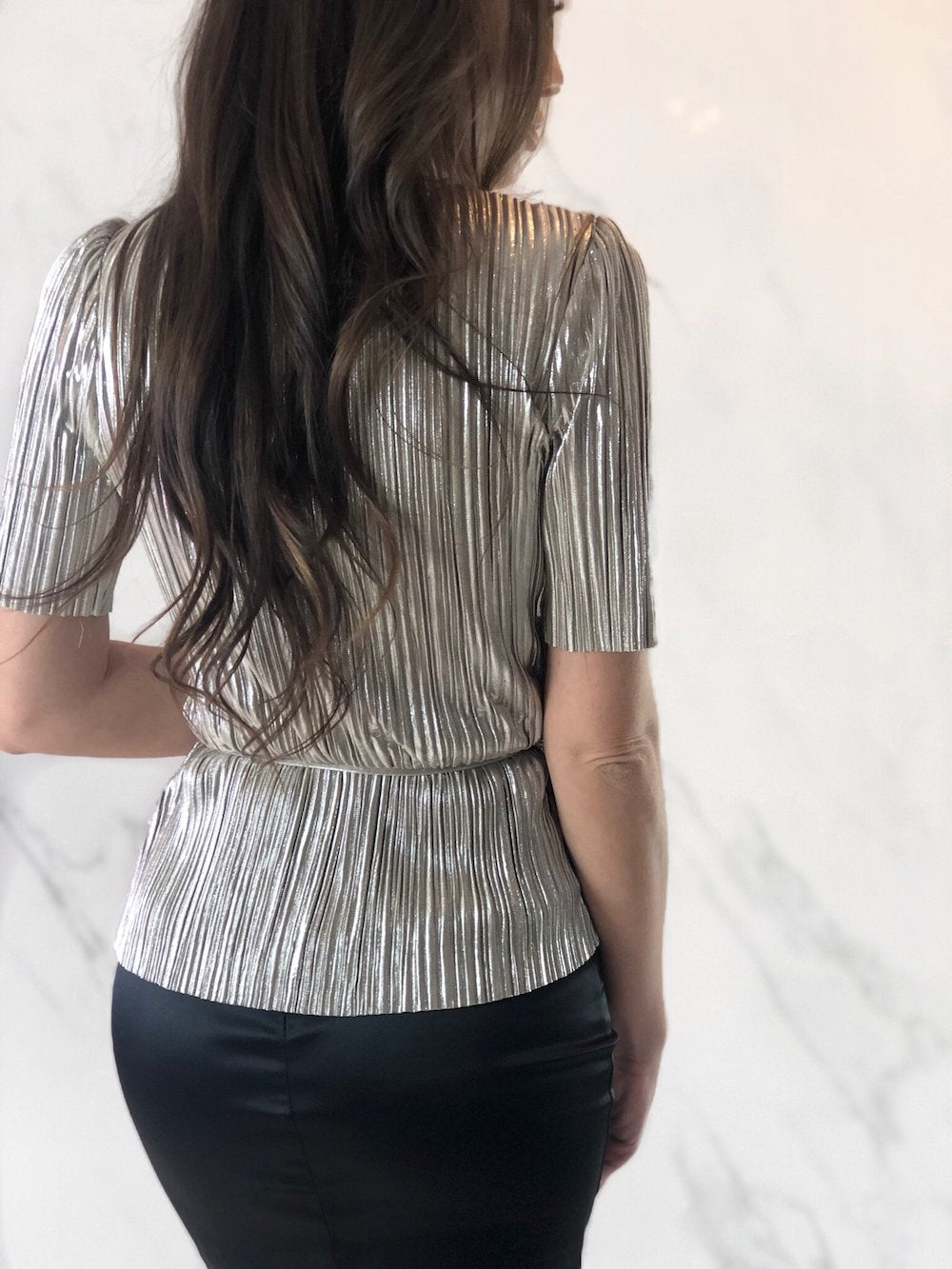 Cecilia Top, Women's Champagne Tops