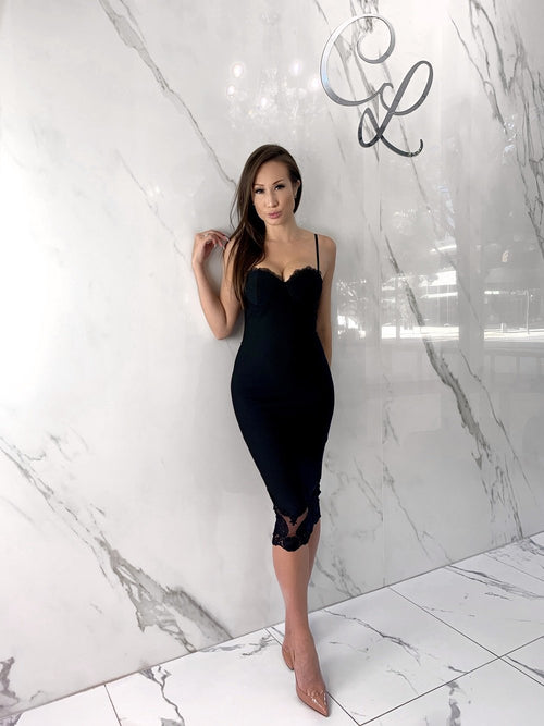 Christine Dress, Women's Black Dresses