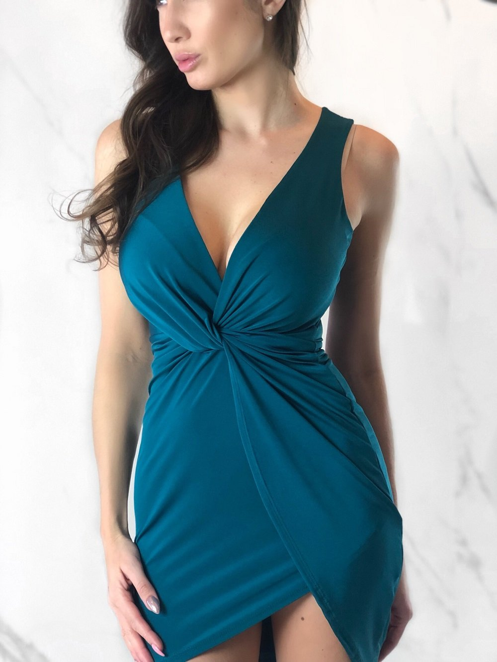 Dominique Dress, Women's Green Dresses