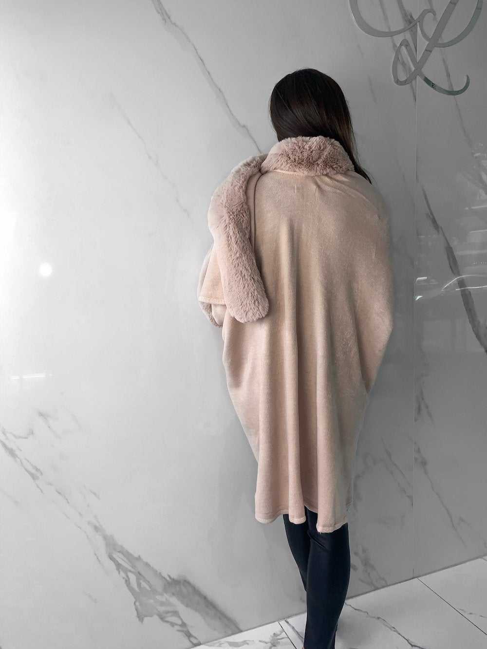 Dova Coat, Women's Blush Coats