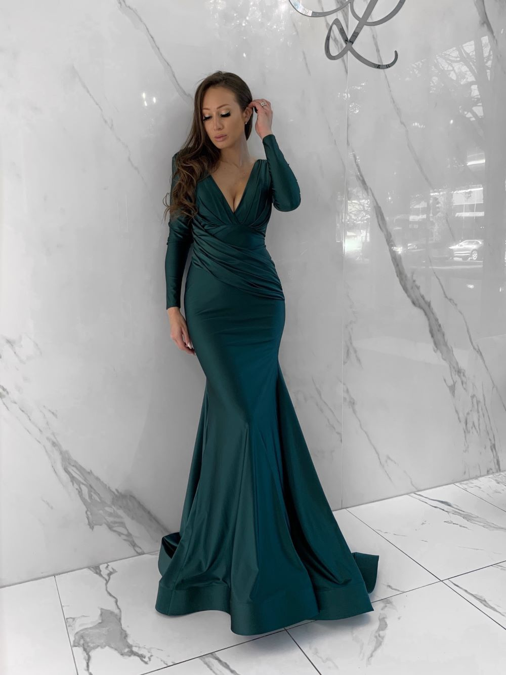 Frieda Dress, Women's Emerald Dresses