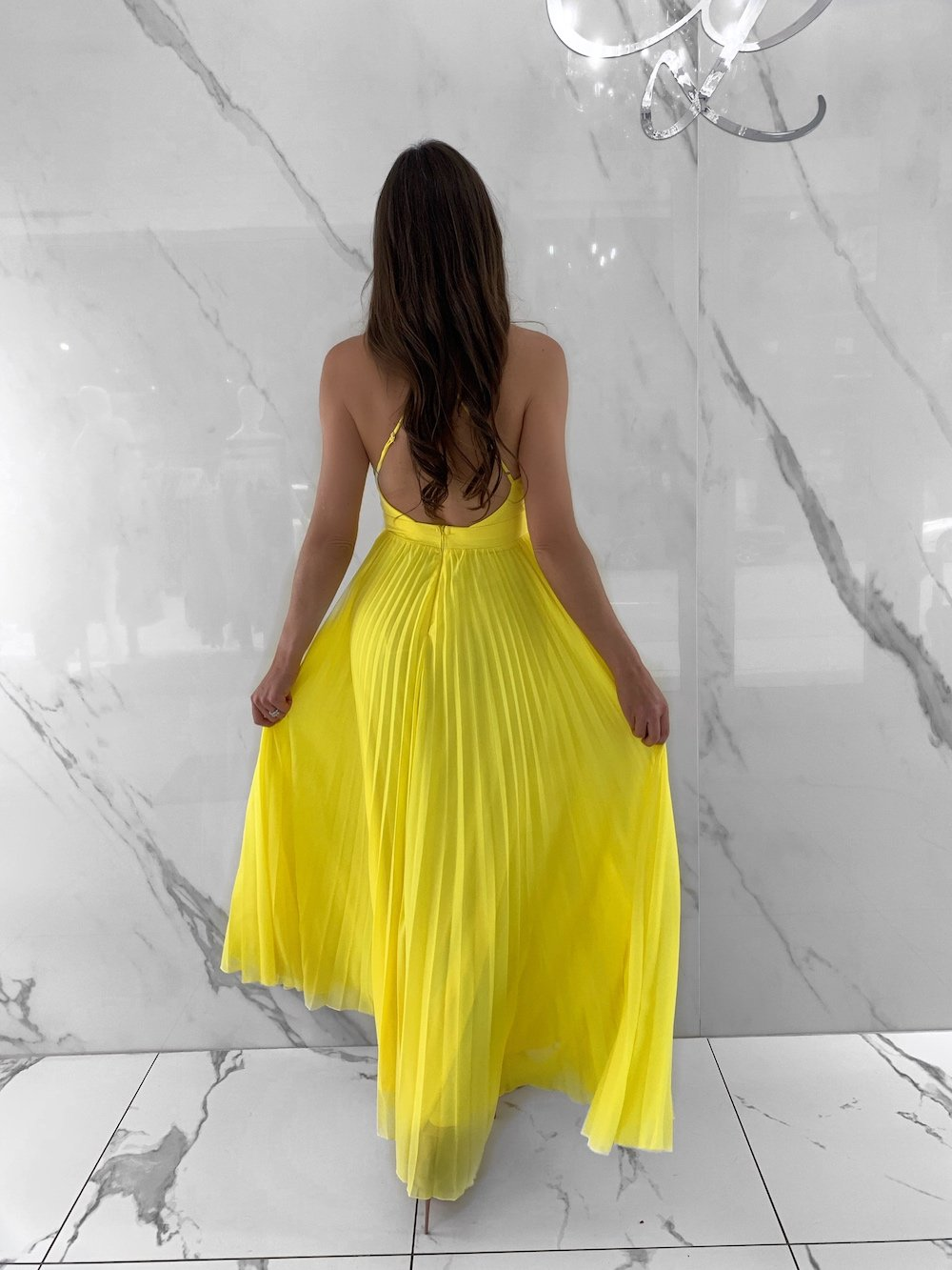 Ginny Dress, Women's Yellow Dresses