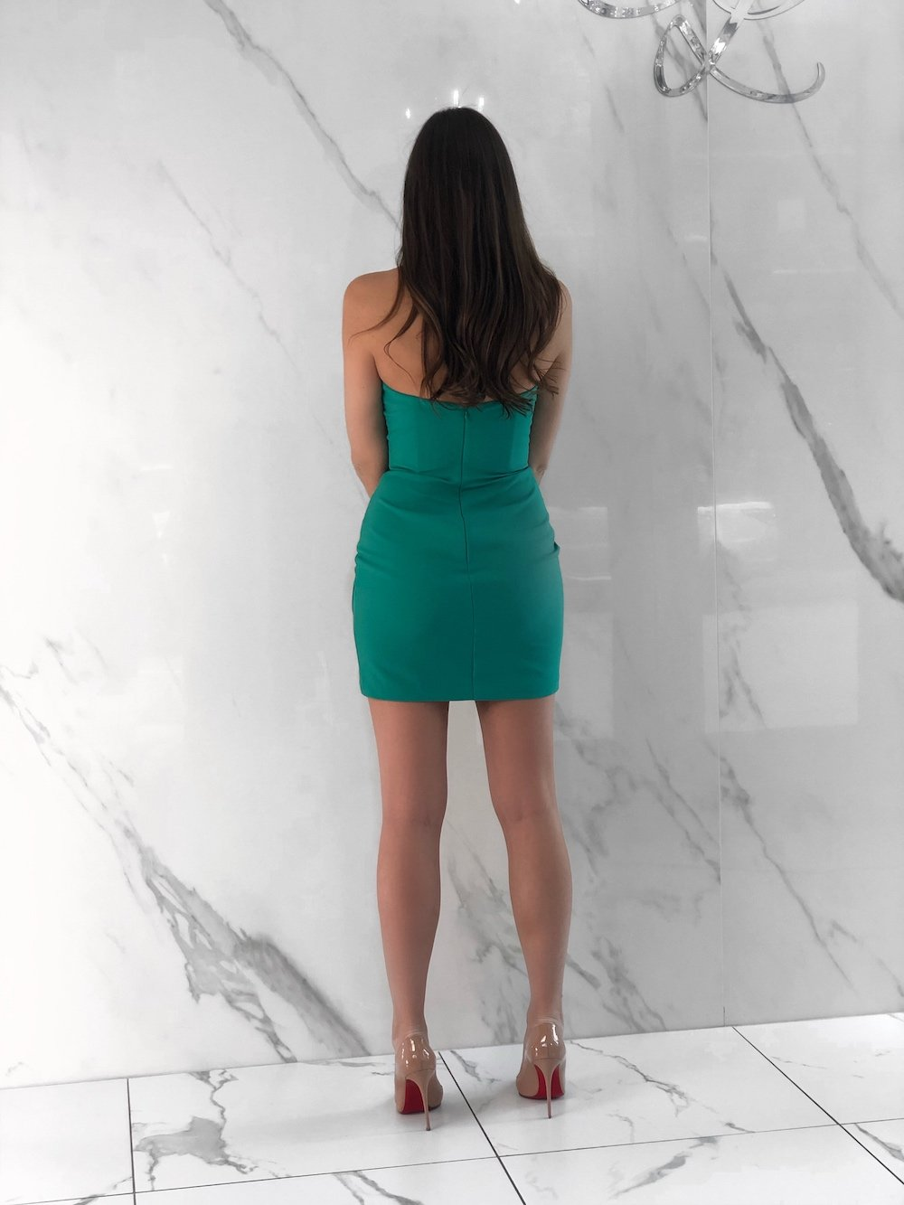 Jax Dress, Women's Green Dresses