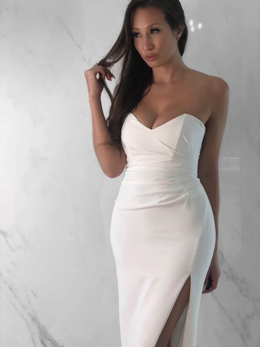 Joy Dress, Women's White Dresses