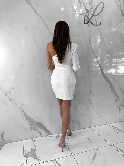 Lisa Dress, Women's White Dresses