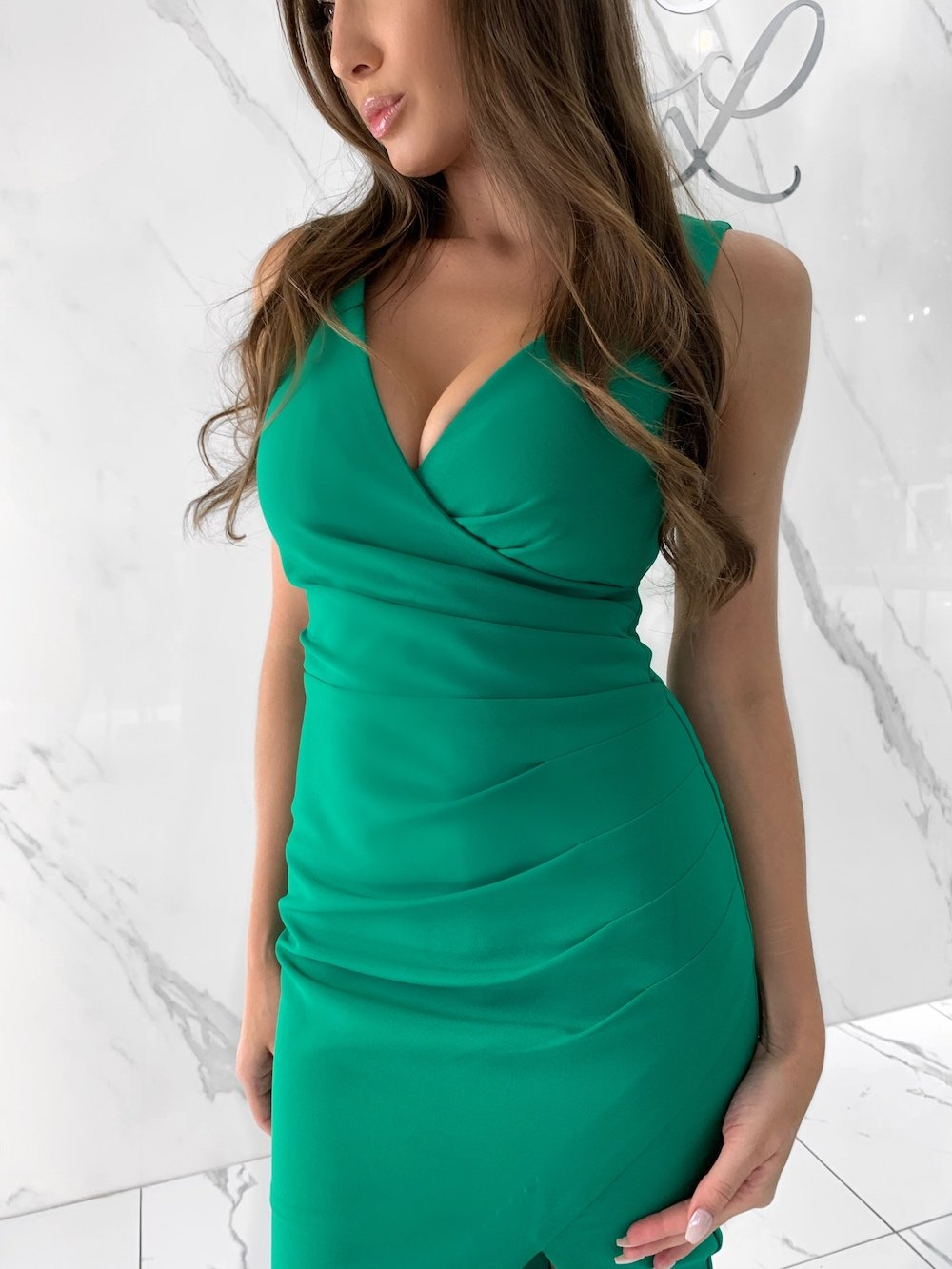 Maddy Dress, Women's Green Dresses