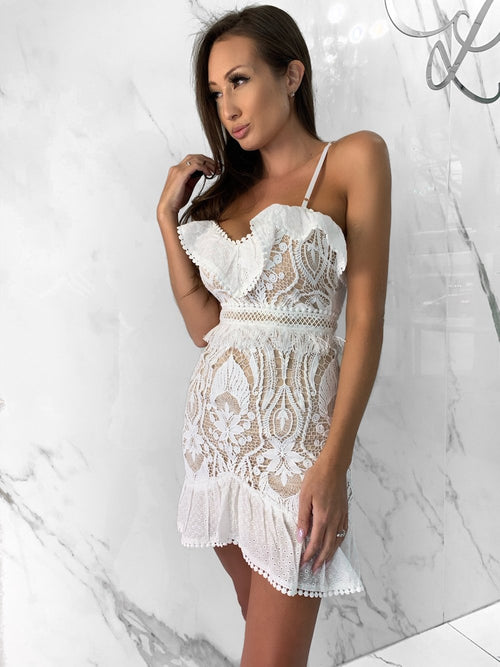 Maeve Dress, Women's White Dresses