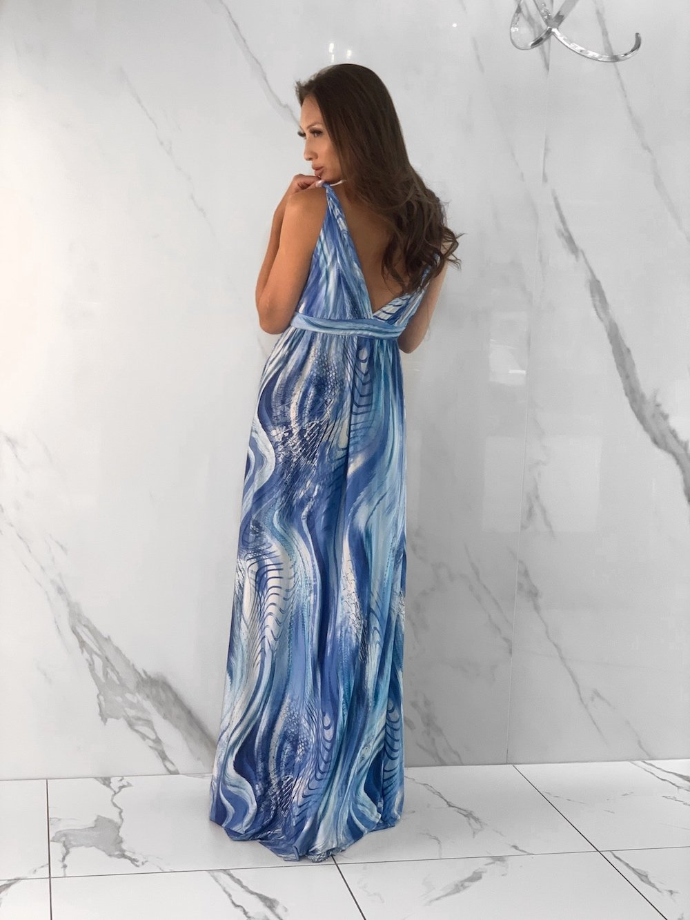 Maldives Dress, Women's Blue Dresses