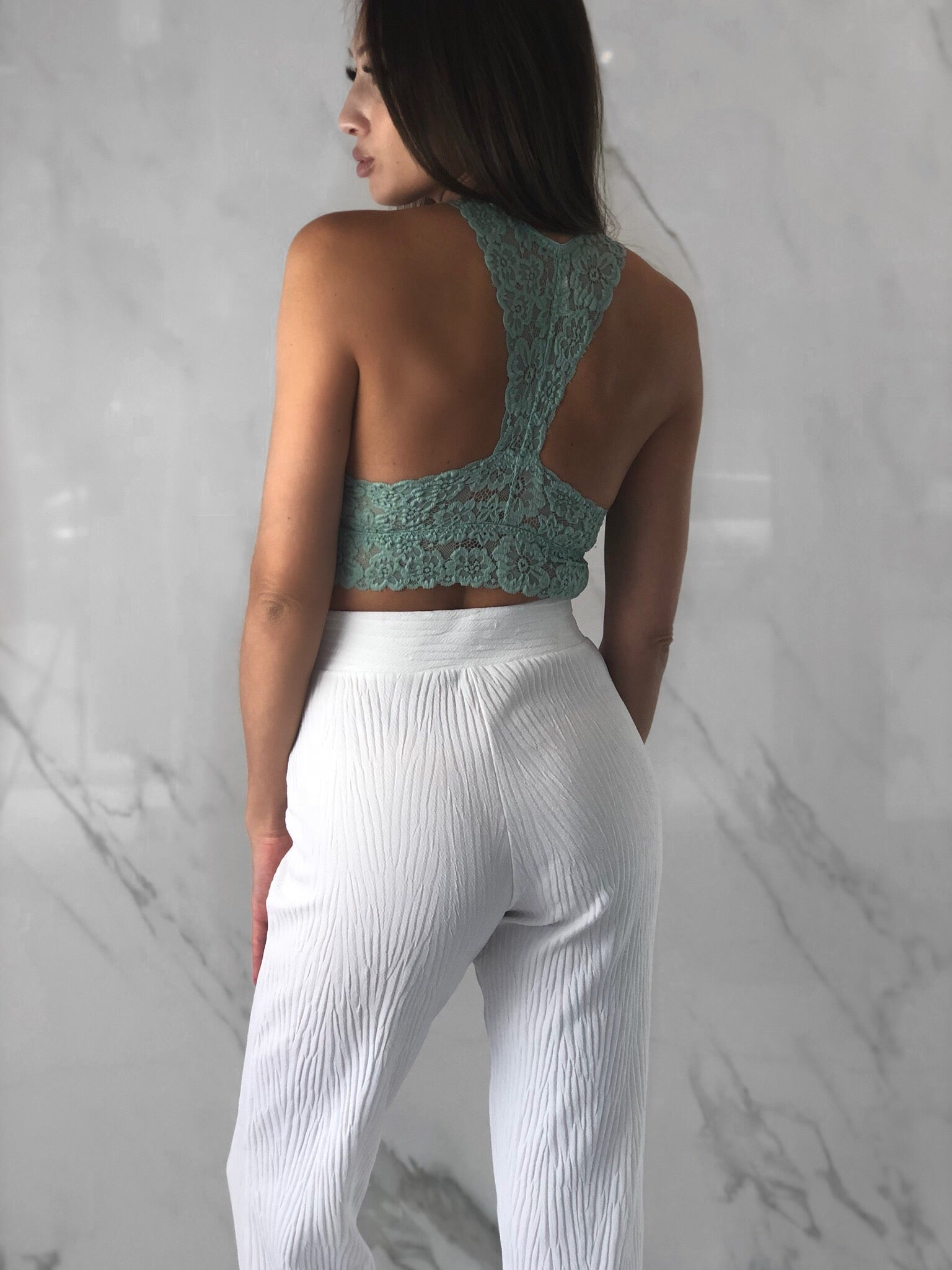 Marissa Top, Women's Mint Tops
