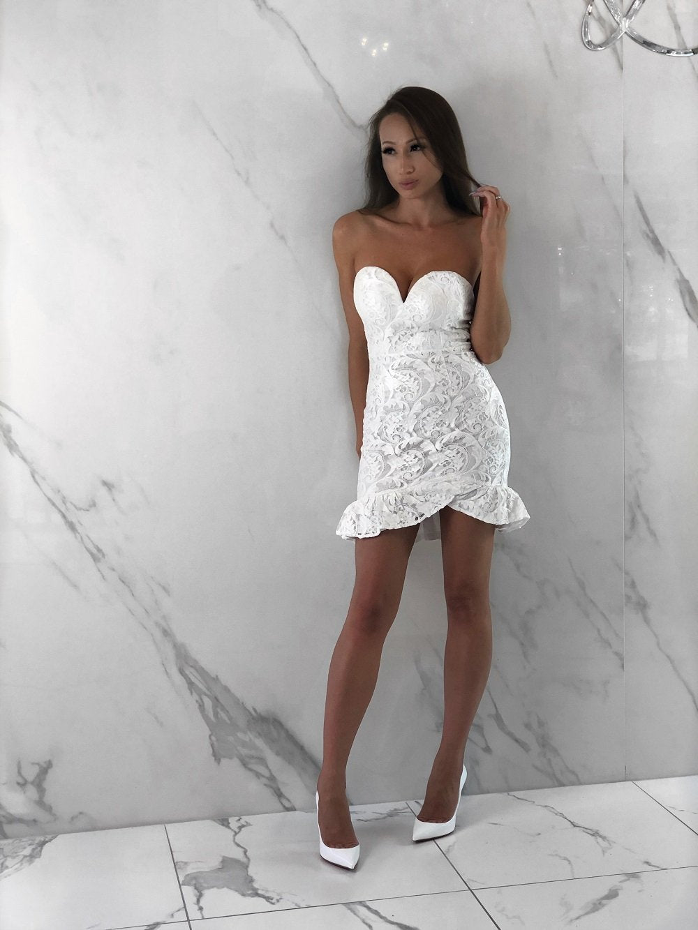Matina Dress, Women's White Dresses