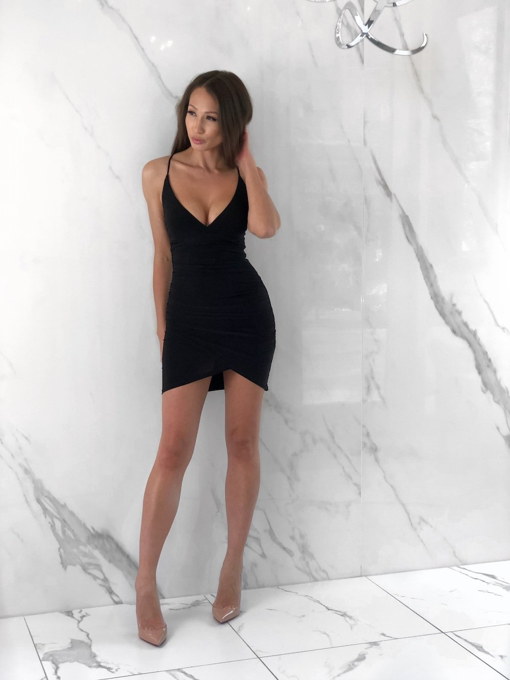 Natalie Dress, Women's Black Dresses
