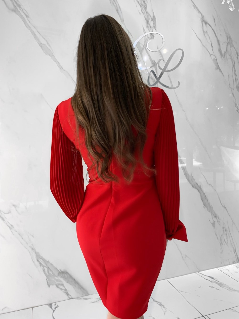 Natty Dress, Women's Red Dresses