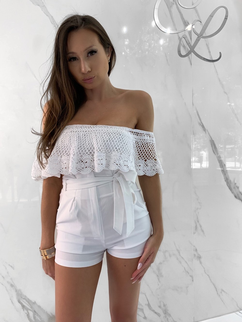 Notik Tops, Women's White Tops