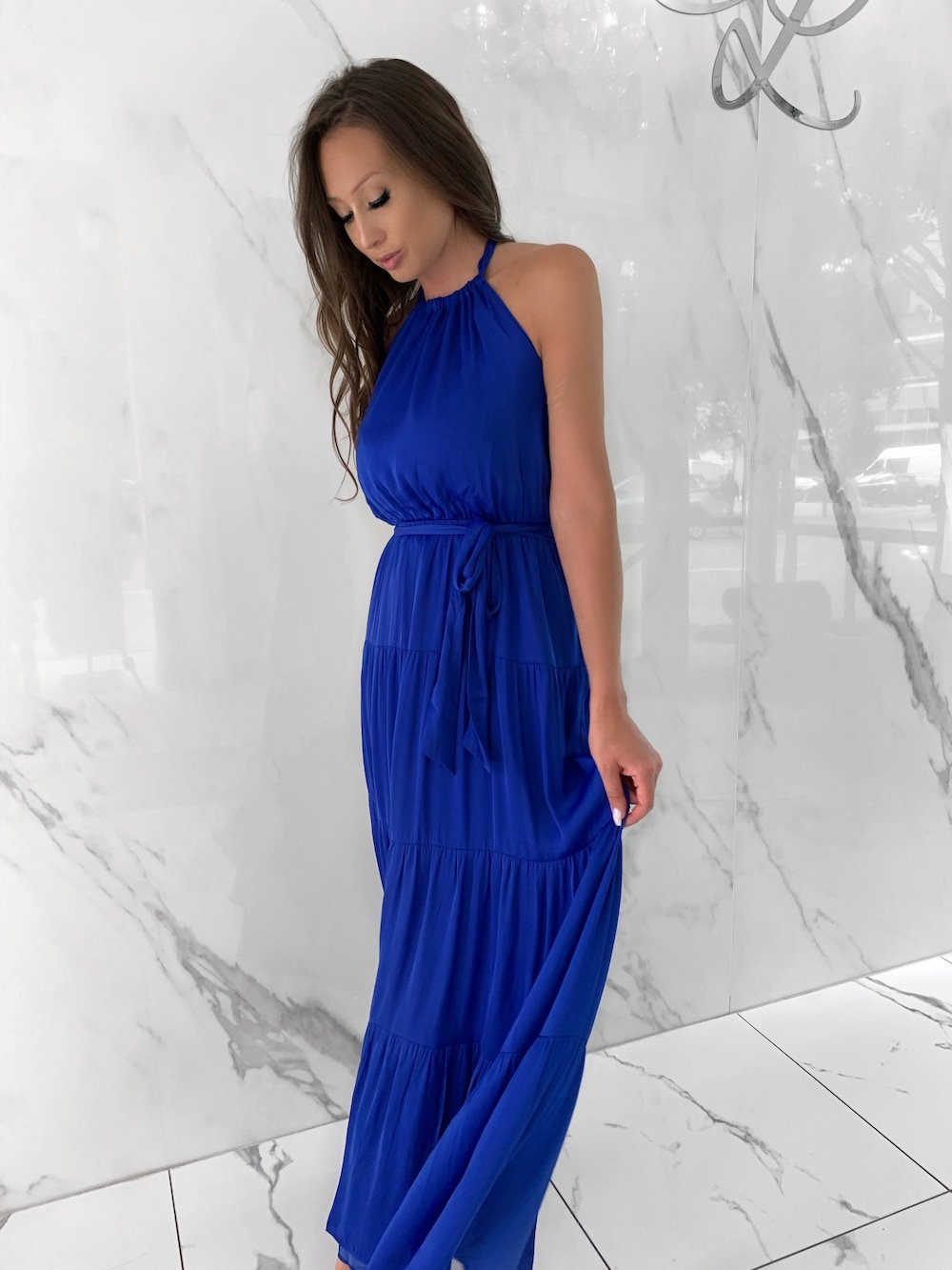 Posie Dress, Women's Royal Blue Dresses