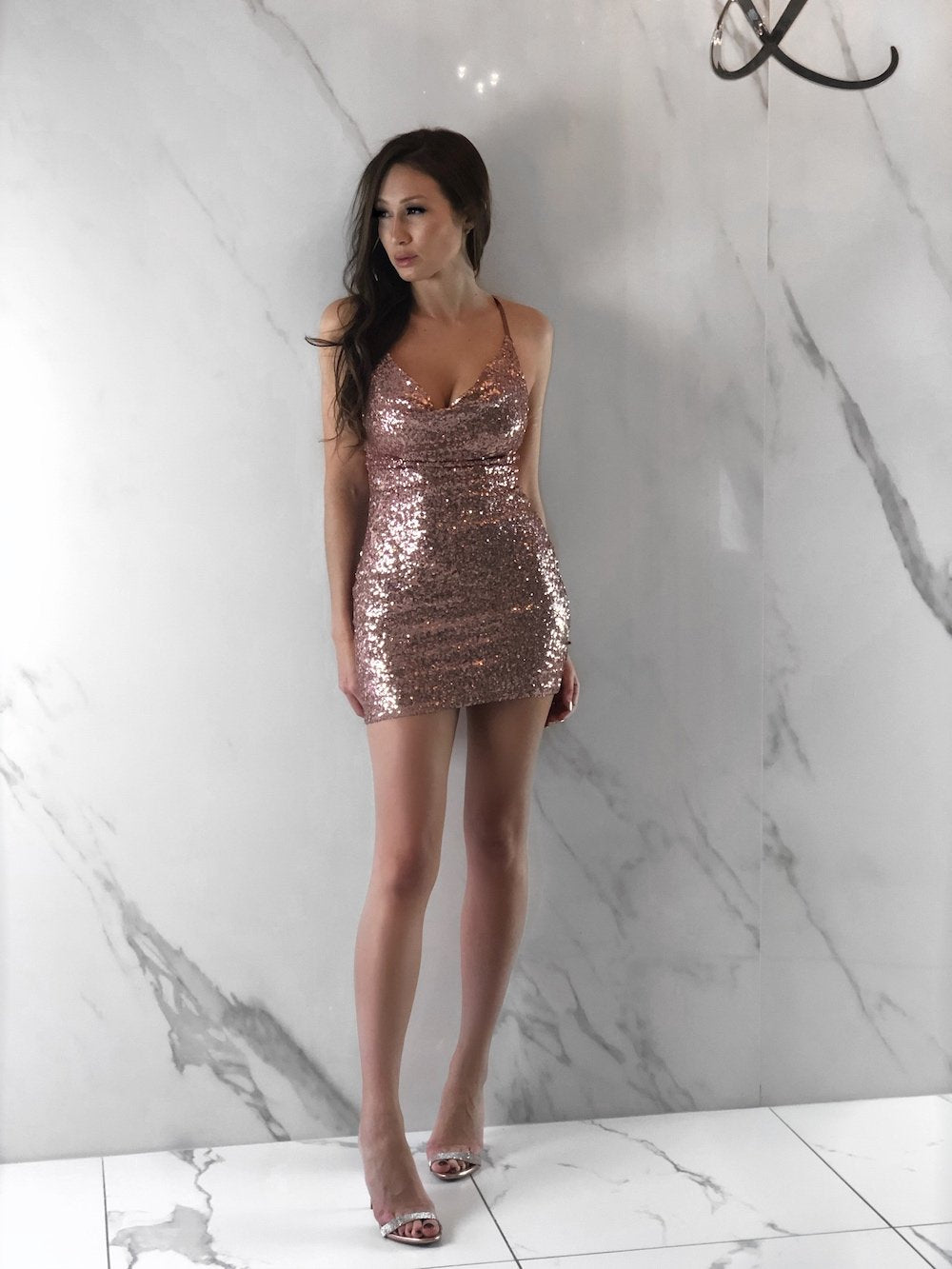 Rose Dress, Women's Rose Gold Dresses