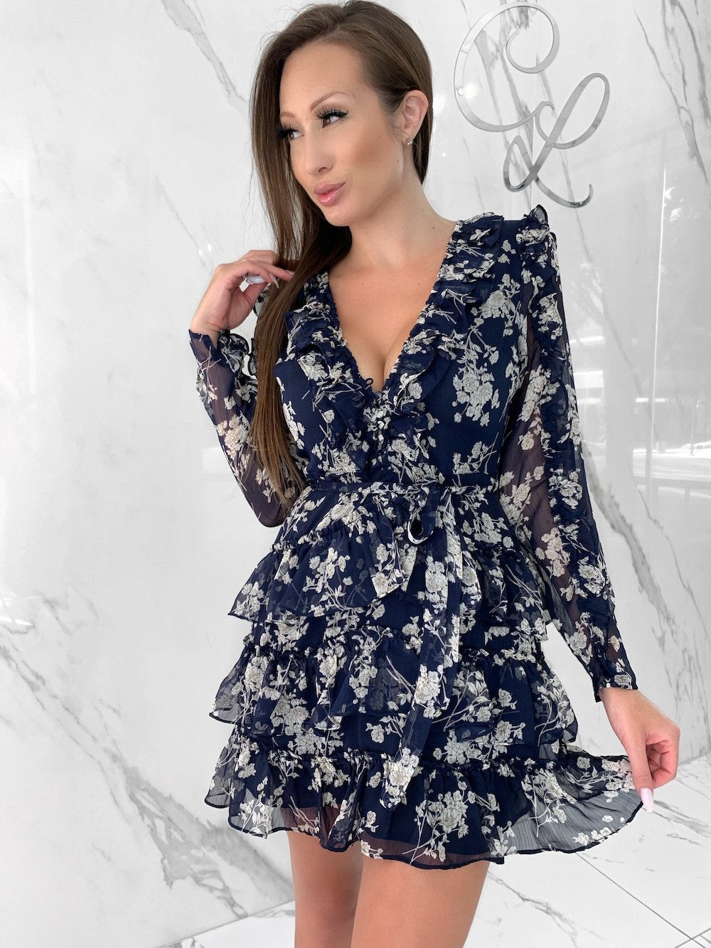 Sweet Like Me Dress, Women's Navy Dresses