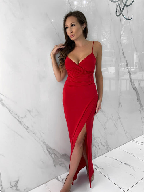 Sydney Dress, Women's Red Dresses