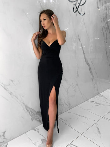 Caryssa Black Dress