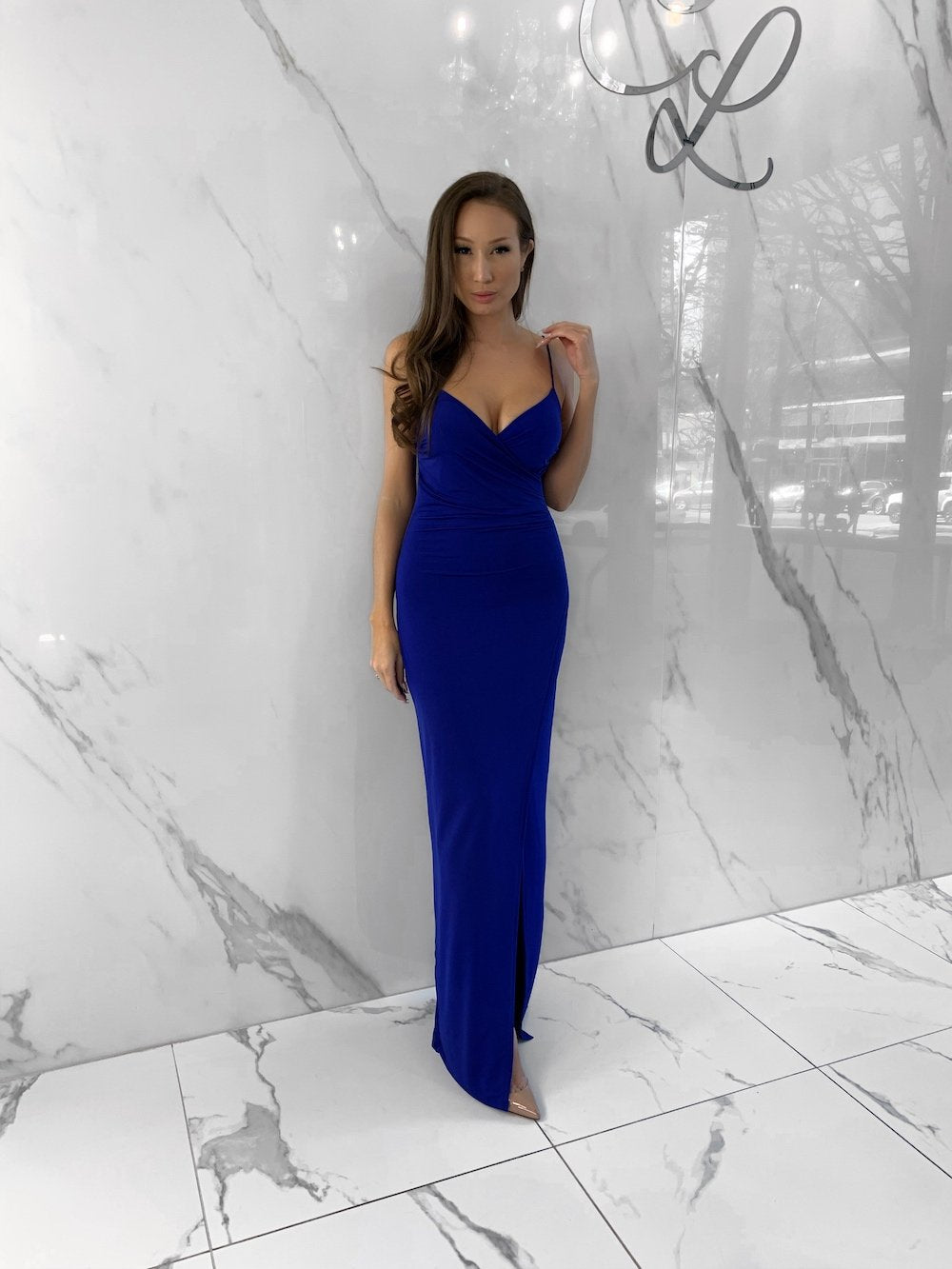 Sydney Dress, Women's Royal Blue Dresses