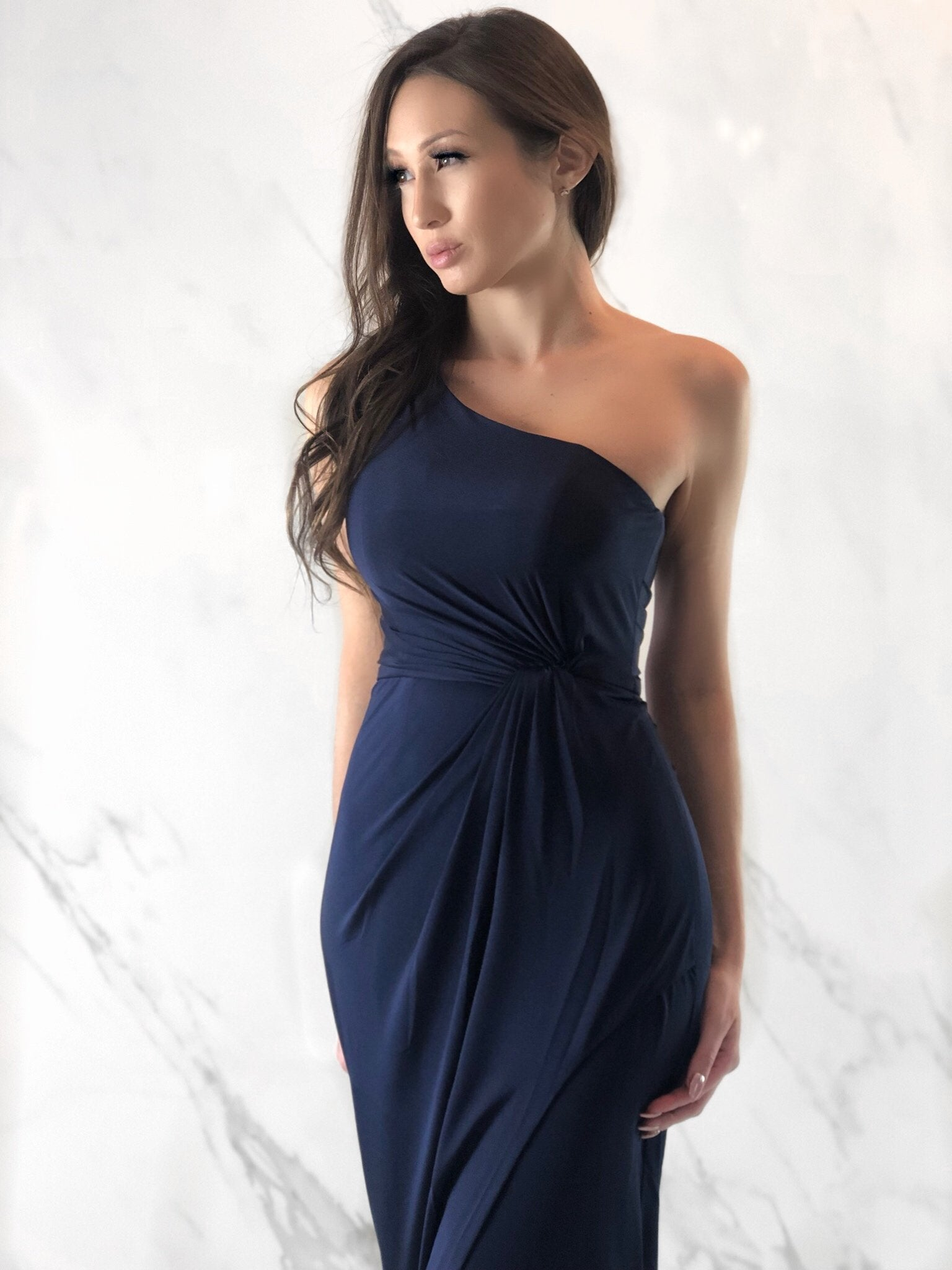 Tabatha Dress, Women's Navy Dresses
