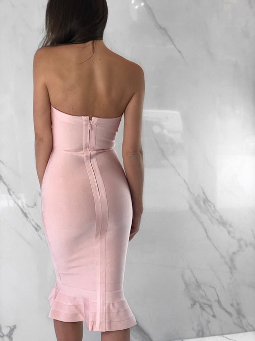 Taylor Dress, Women's Blush Dresses