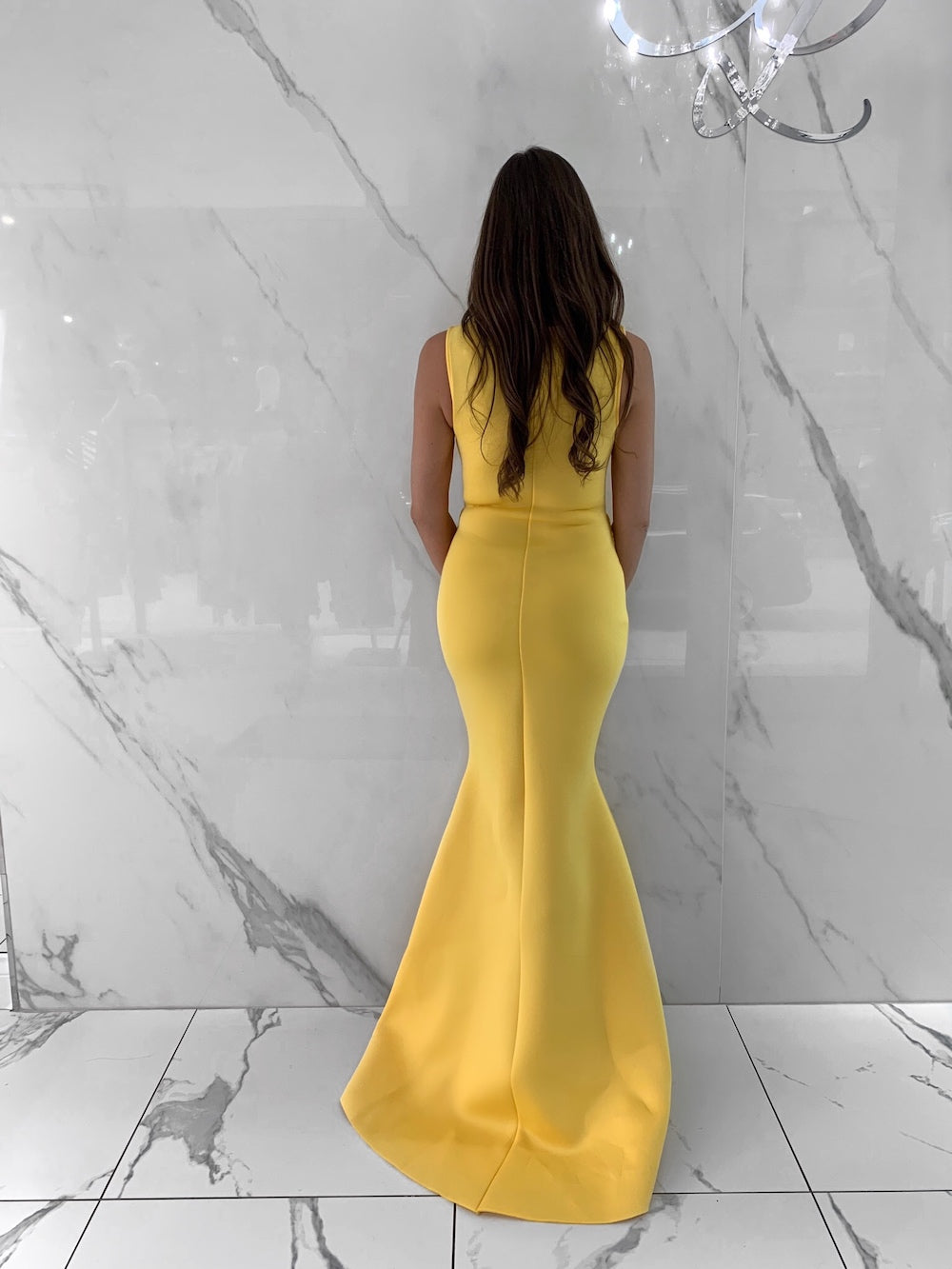 Yvette Dress, Women's Yellow Dresses