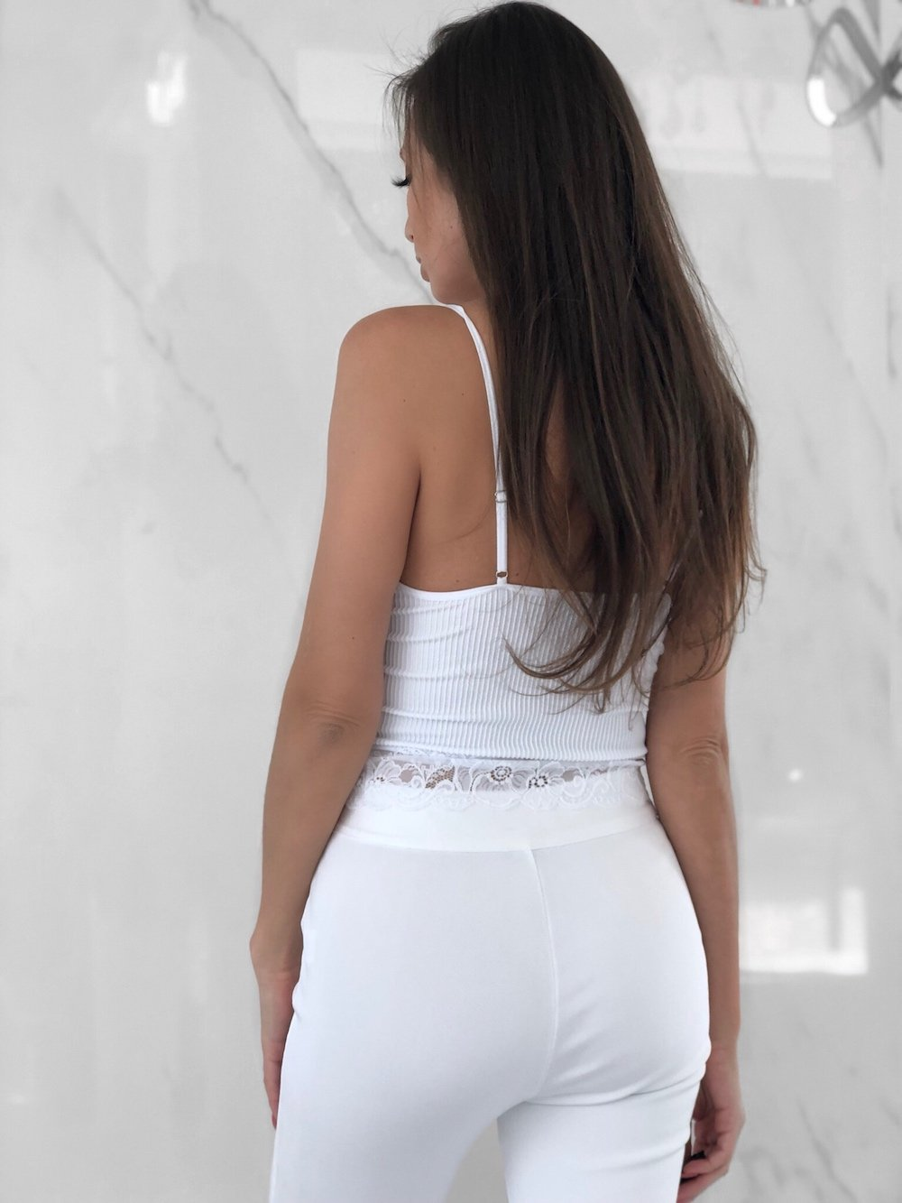 Cadiz Top, Women's White Tops