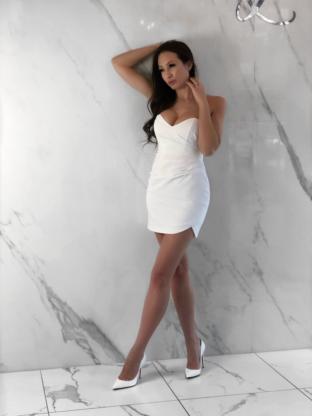 Jax Dress, Women's White Dresses