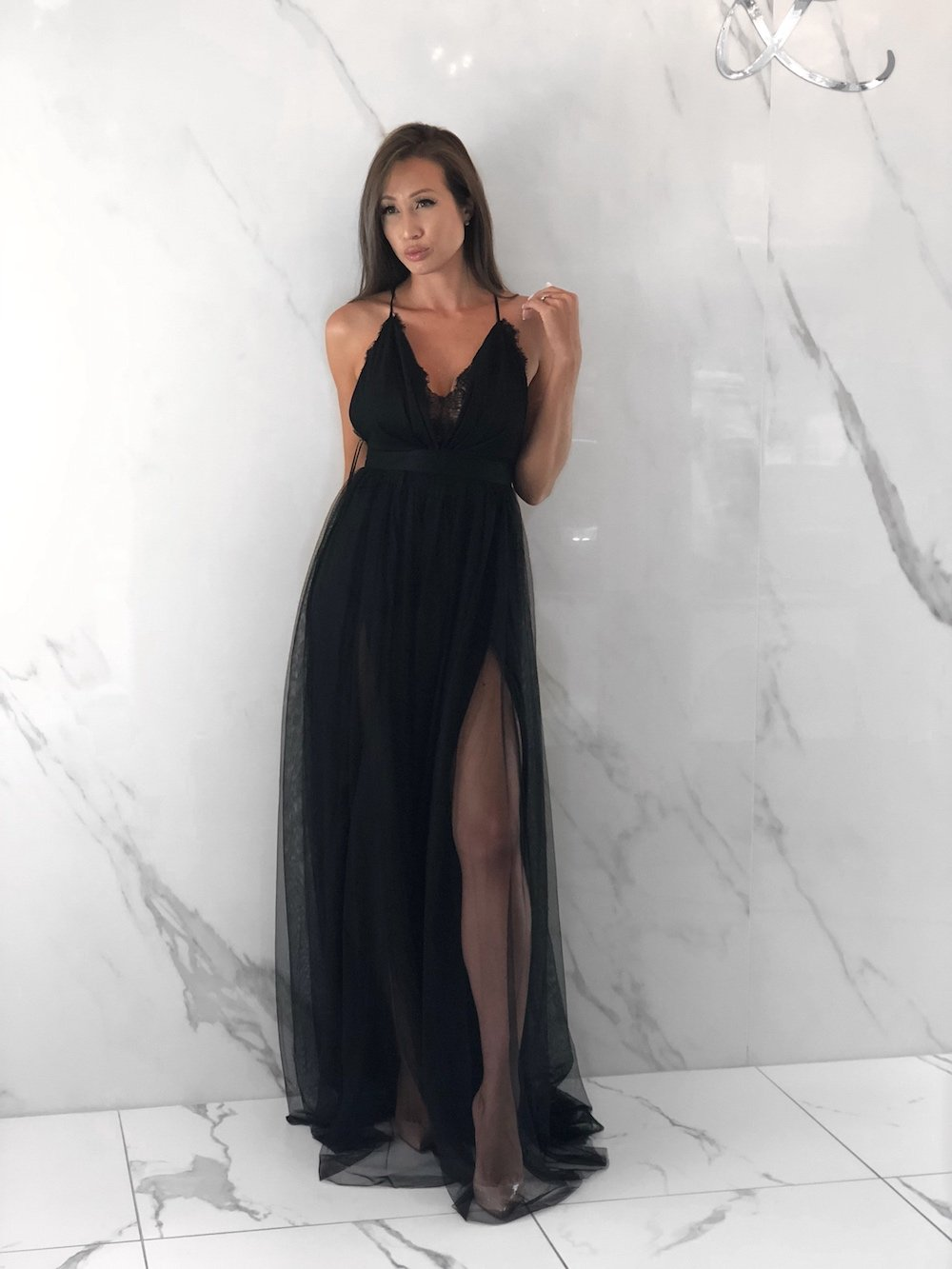 Rouge Black Dress, Women's Black Dresses