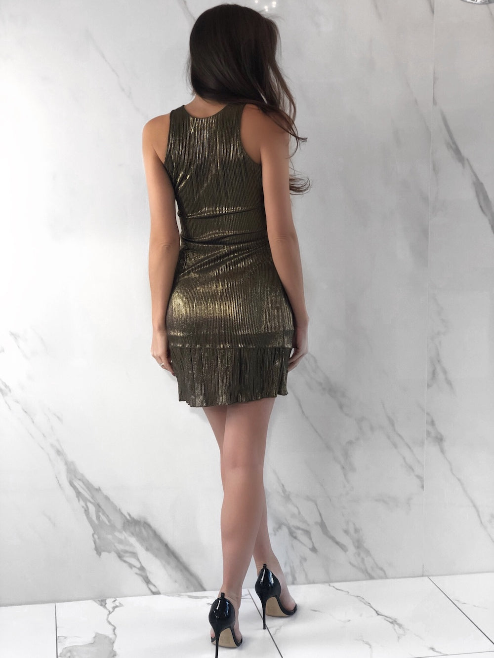 Troy Gold Dress, Women's Gold Dresses