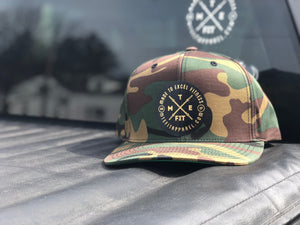 "Camo ""The Brand"" Snapback - Made To Excel Fitness"