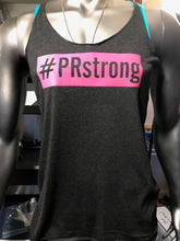 #PRstrong women Tank Top, Black & Pink - Made To Excel Fitness