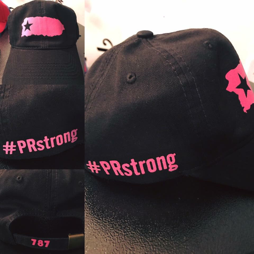 #PRstrong Black & Pink Hat - Made To Excel Fitness