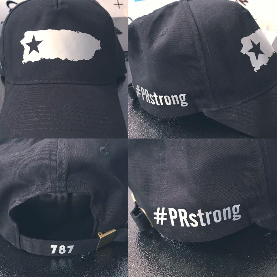 #PRstrong Black & Silver Hat - Made To Excel Fitness