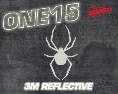 SPIDER 3M REFLECTIVE HEAT ACTIVATED TRANSFER FOR LEATHER, FABRIC, WOOD, PLASTIC, GLASS ETC