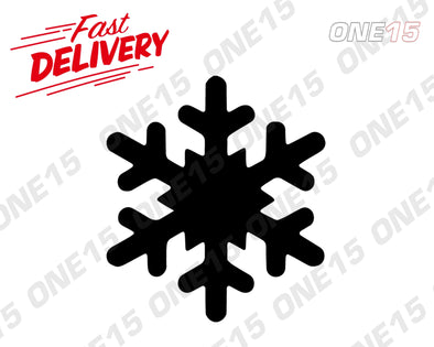 SNOWFLAKE 3 VINYL PAINTING STENCIL SIZE PACK *HIGH QUALITY*