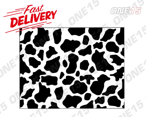 COW PATTERN VINYL PAINTING STENCIL *HIGH QUALITY*