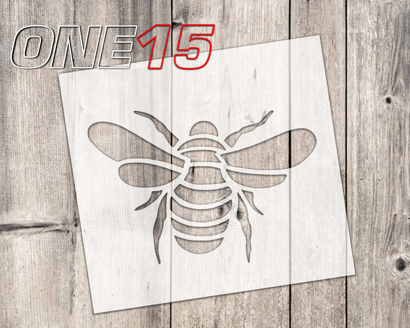 Bee mylar stencil | reusable | for wood food t shirt shoes painting airbrushing | food safe | diy crafting