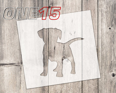 Dog 3 mylar stencil | reusable | for wood food t shirt shoes painting airbrushing | food safe | diy crafting