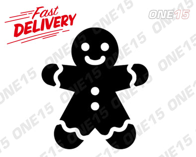 GINGERBREAD MAN VINYL PAINTING STENCIL SIZE PACK *HIGH QUALITY*