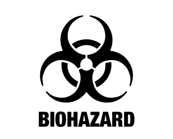 BIOHAZARD LOGO VINYL PAINTING STENCIL SIZE PACK *HIGH QUALITY*