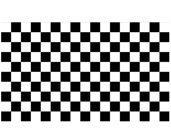 CHECKERED VINYL PAINTING STENCIL *HIGH QUALITY*