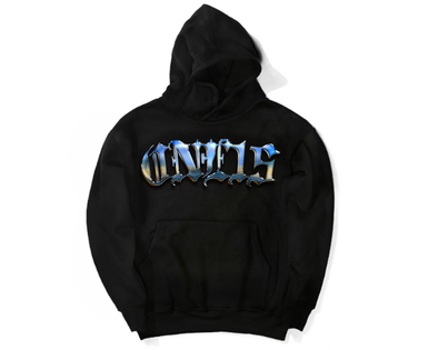 ONE15 CHROME SPELL OUT HOODIE