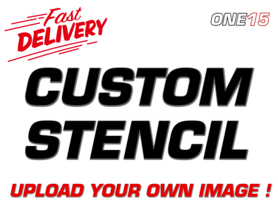 CUSTOM UPLOAD YOUR OWN IMAGE VINYL PAINTING STENCIL *HIGH QUALITY*
