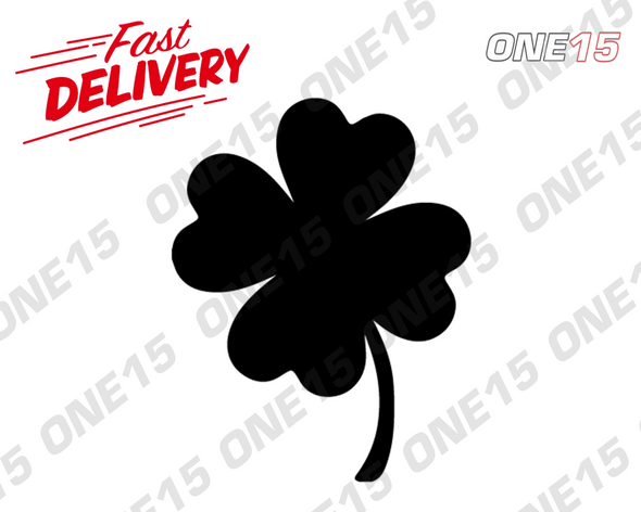 FOUR LEAF CLOVER VINYL PAINTING STENCIL SIZE PACK *HIGH QUALITY*