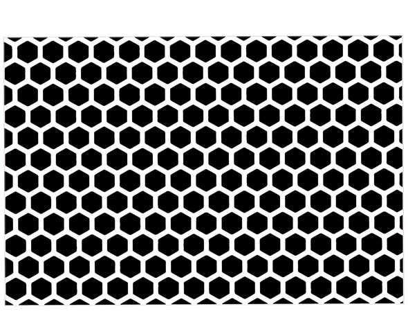 HONEYCOMB PATTERN VINYL PAINTING STENCIL *HIGH QUALITY*